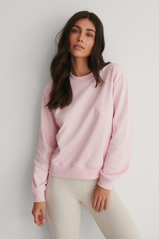 Basic Sweater Candy Pink