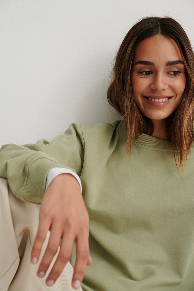 Basic Sweater Light Khaki