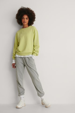 Green Basic Sweater