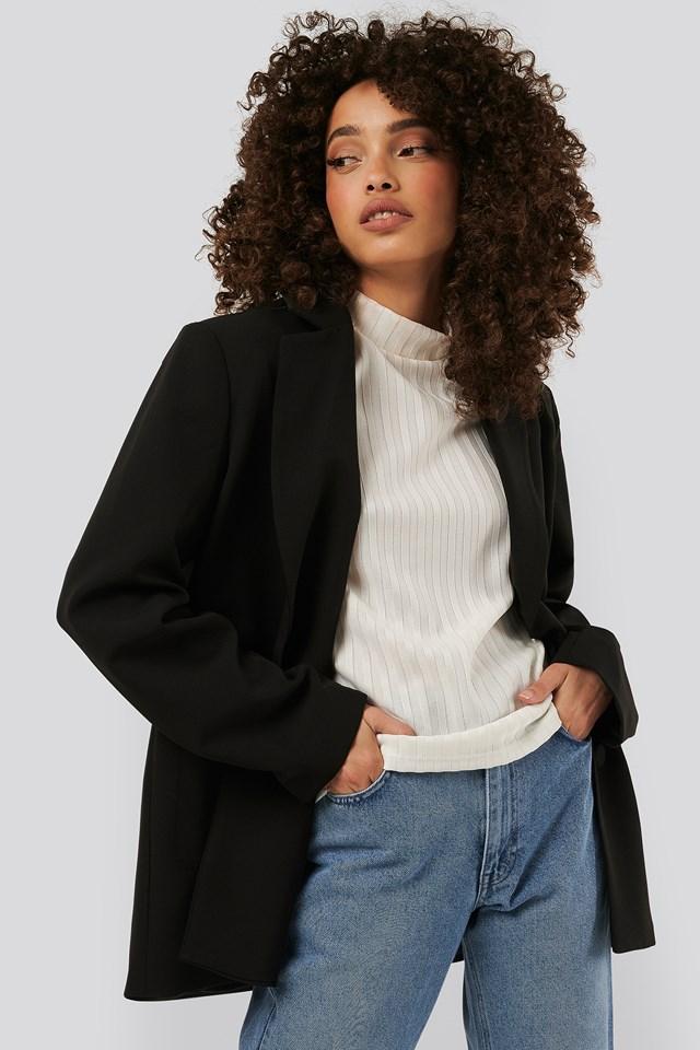 Big Pocket Blazer Black