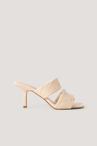 Offwhite Braided Double Strap Mule