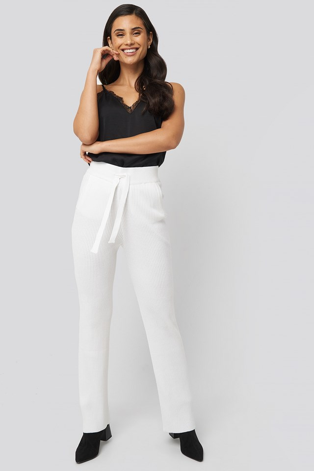 Brussel Pants Off White