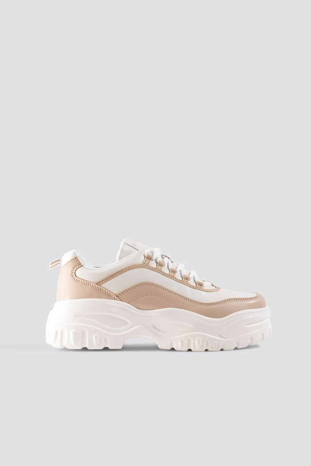 Chunky Sole Sneakers Natural