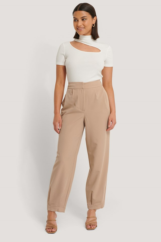 Darted Suit Pants NA-KD Classic