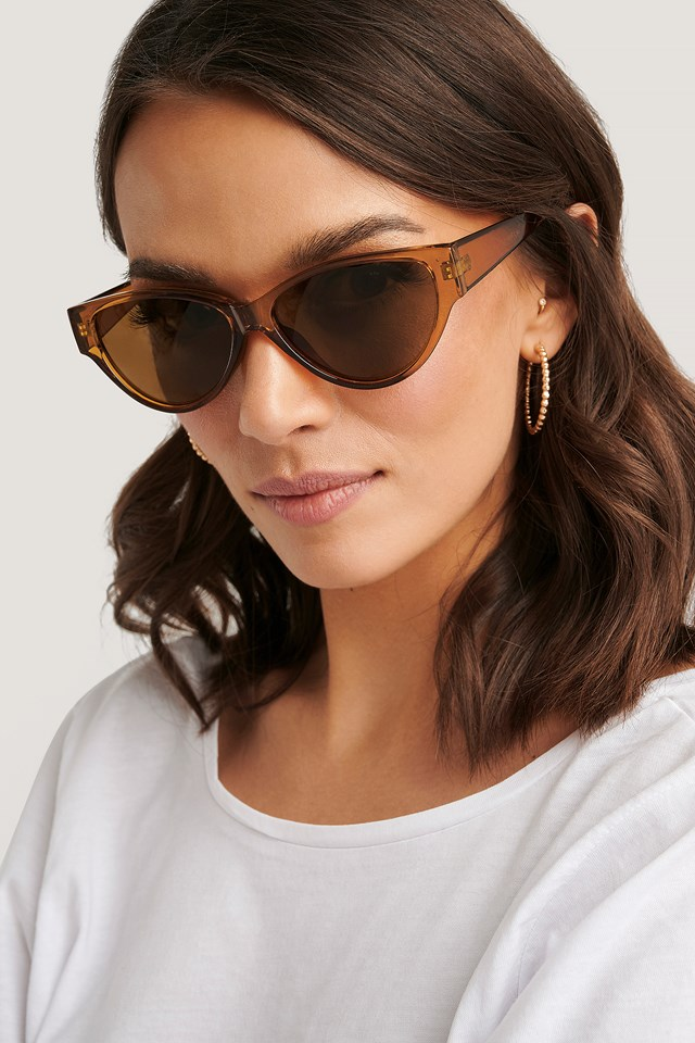 Drop Shaped Cateye Sunglasses NA-KD Accessories