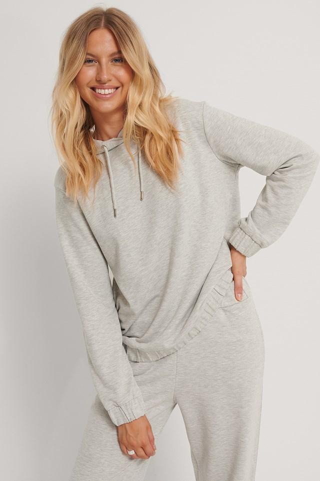 Oversized Hoodie Grey