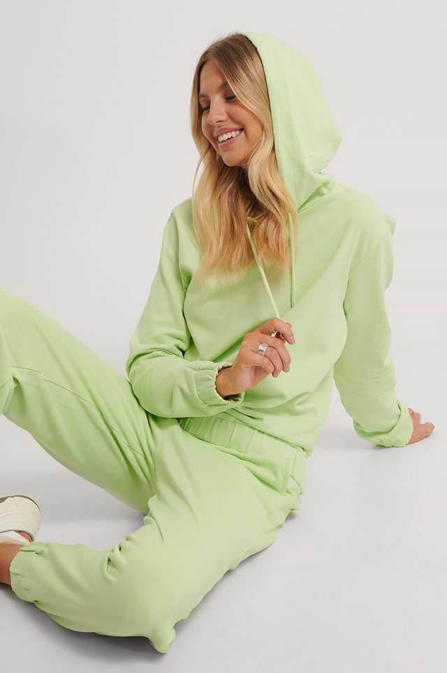 Oversized Hoodie Lime