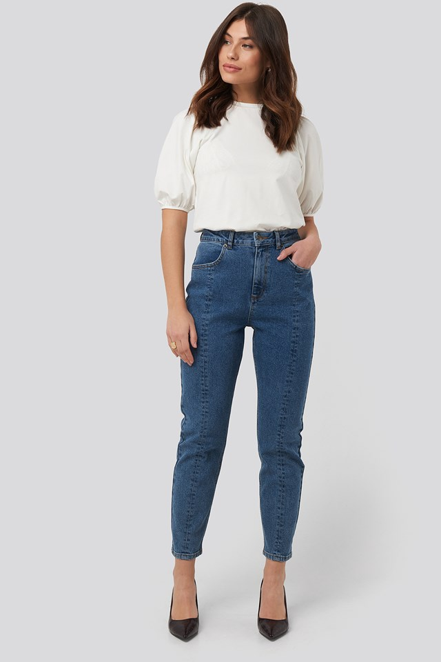 Front Seam Mom Jeans NA-KD