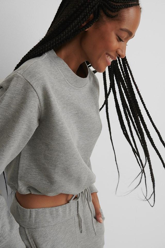 Glitter Sweater Grey