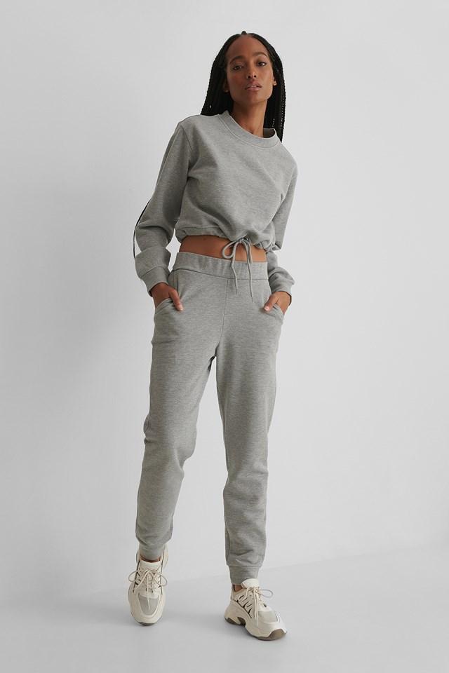 Glitter Sweatpants Grey
