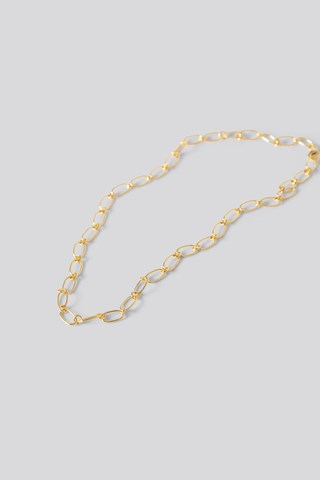 Gold Gold Plated Thin Chain Necklace