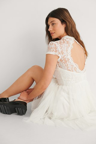 Ivory Carrie Dress