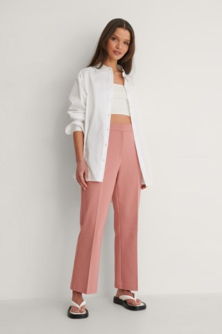 Pink Kick Flared Pants