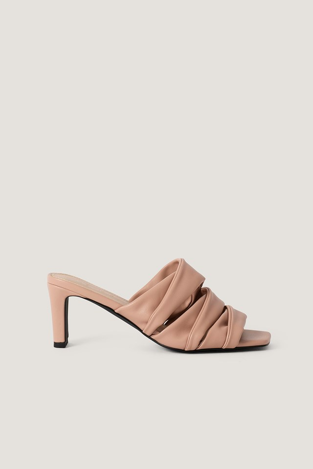Layered Upper Mules NA-KD Shoes