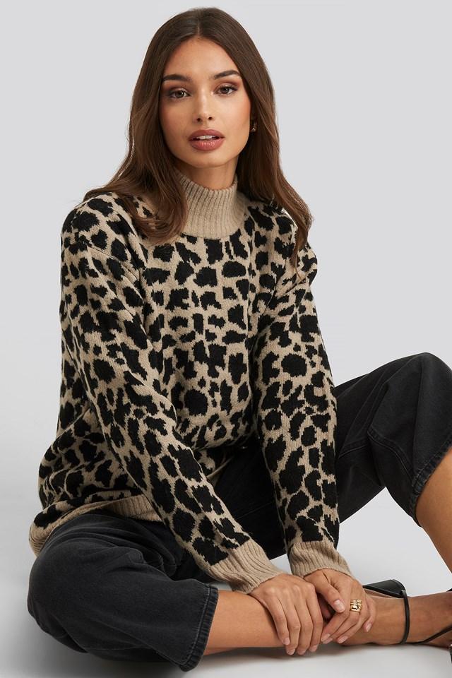 Leo Knitted Sweater NA-KD