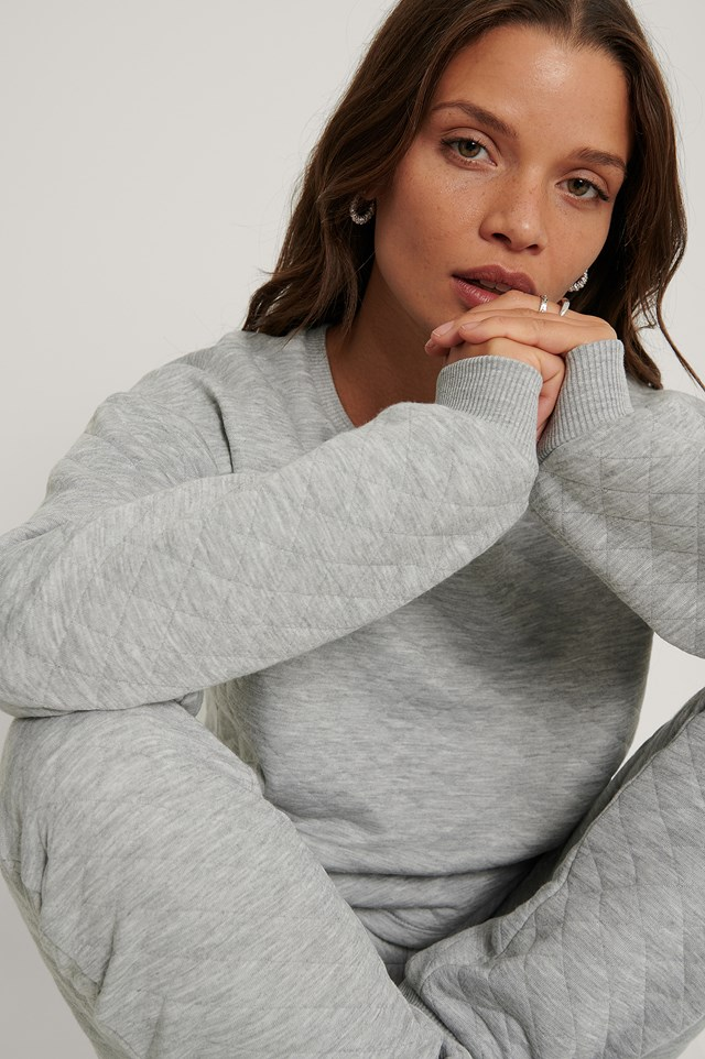 Structured Sweater Grey