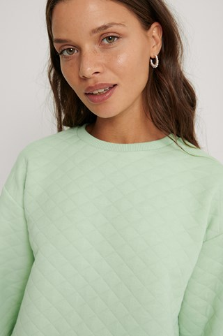 Mint Structured Sweater
