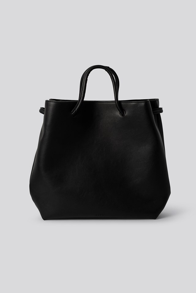 Loop Tote Bag Black