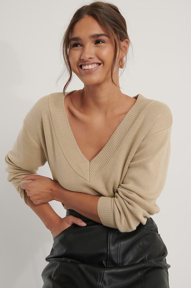 Lounge Sweater Beige