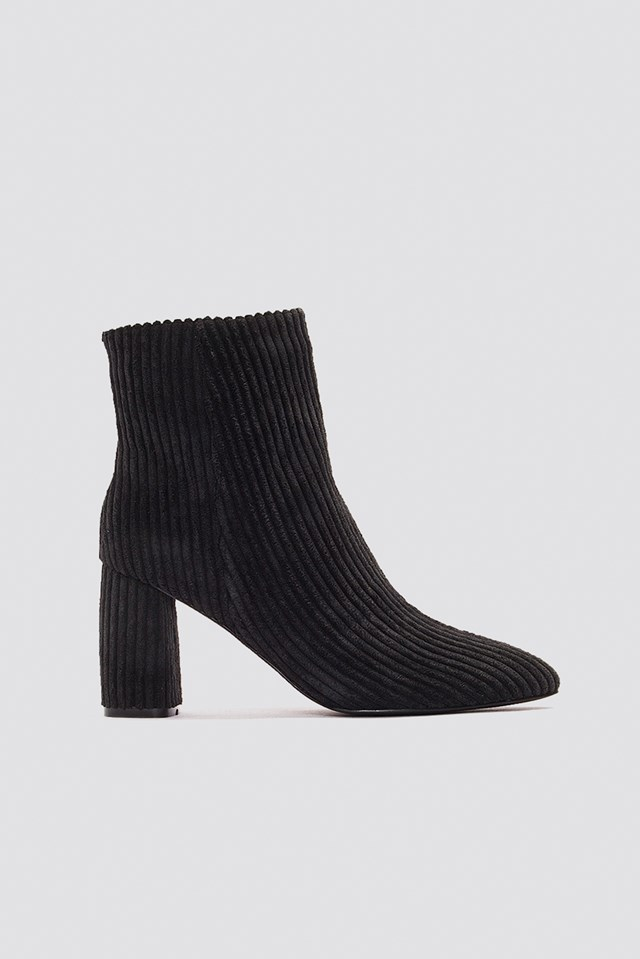 Mid Heel Manchester Boot NA-KD Shoes