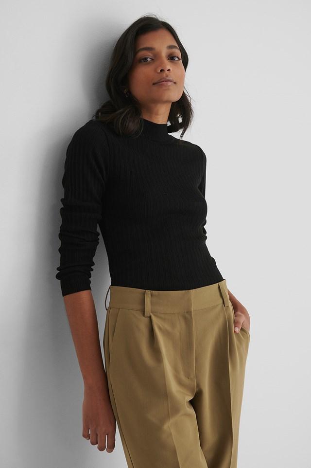 Milla Knit Sweater Black