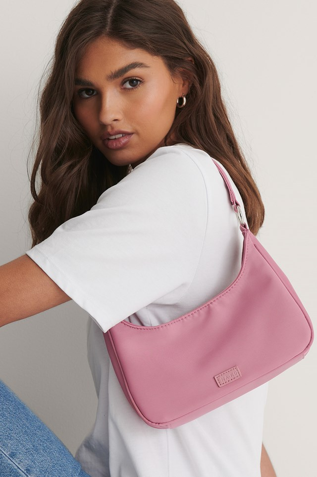 Mini Sporty Shoulder Bag Dusty Pink