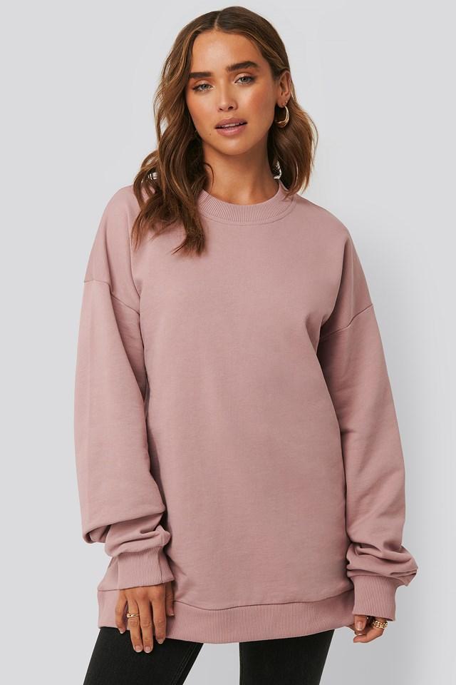 Oversized Crewneck Sweatshirt NA-KD Basic