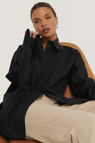 Black Oversized Shirt
