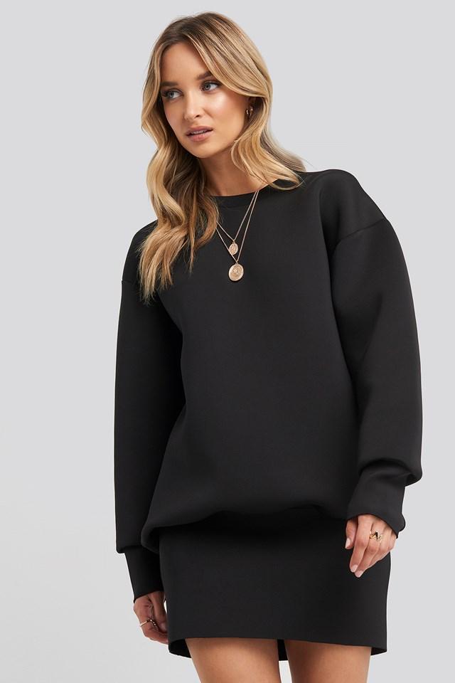 Oversized Sweatshirt Dress NA-KD