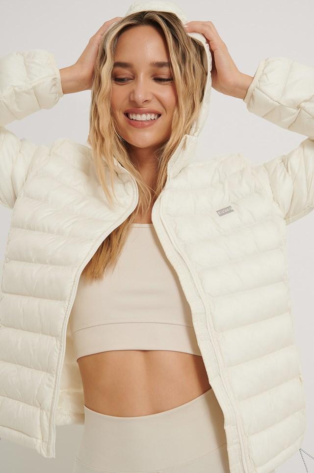 Pandora Packable Jacket White
