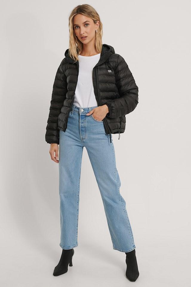 Pandora Packable Jacket Black