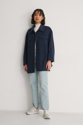 Navy Pastilla Jacket