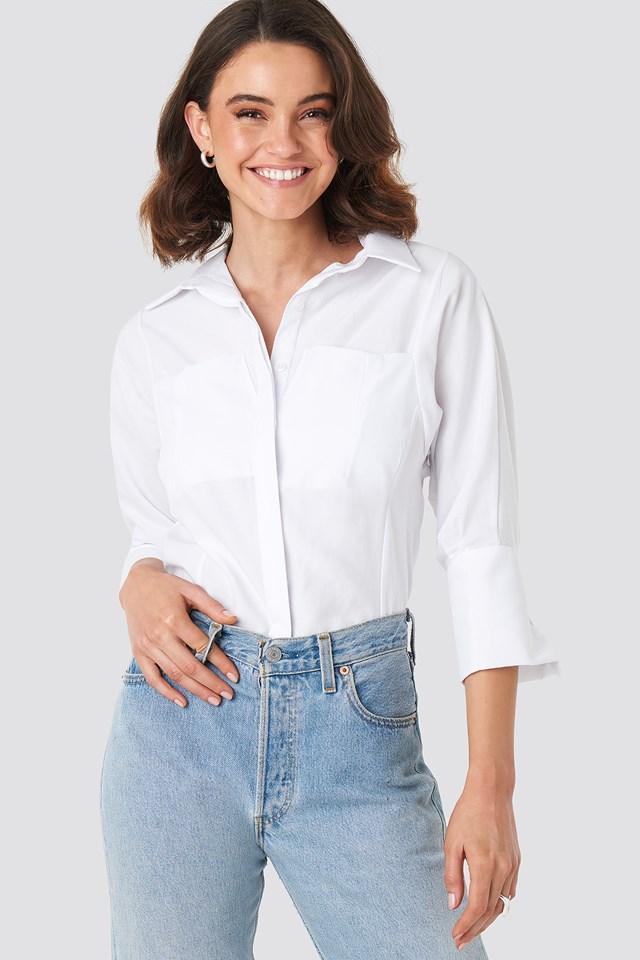Pocket Detail Shirt NA-KD Classic