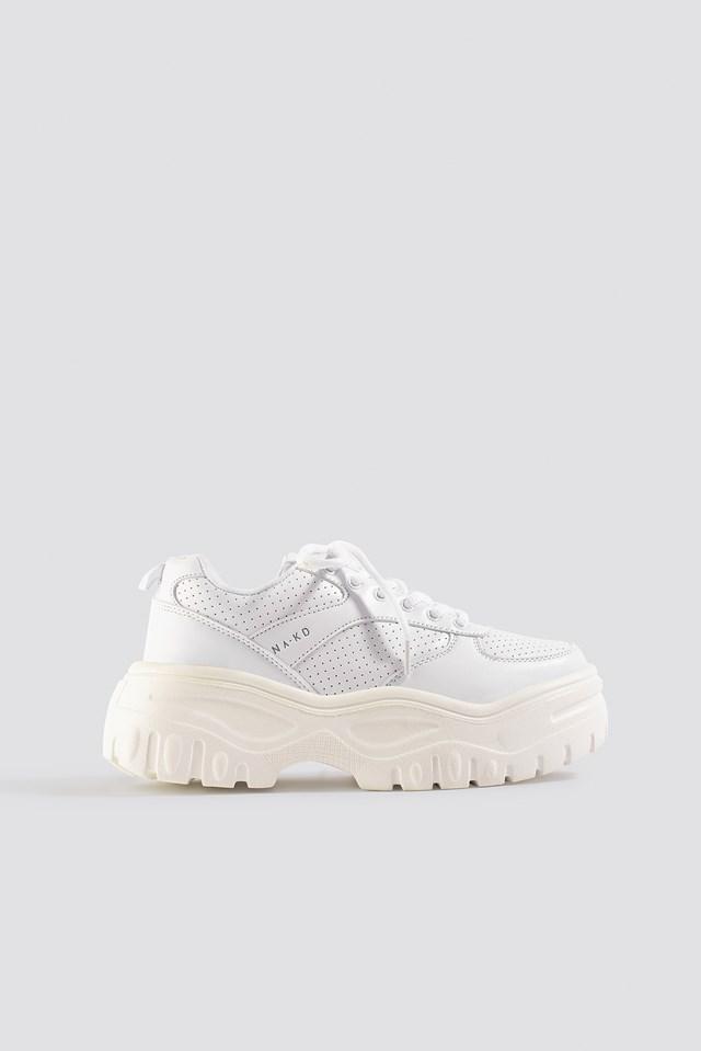 Profile Sole Sneakers White