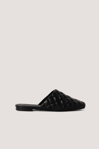 Black Quilted Loafers
