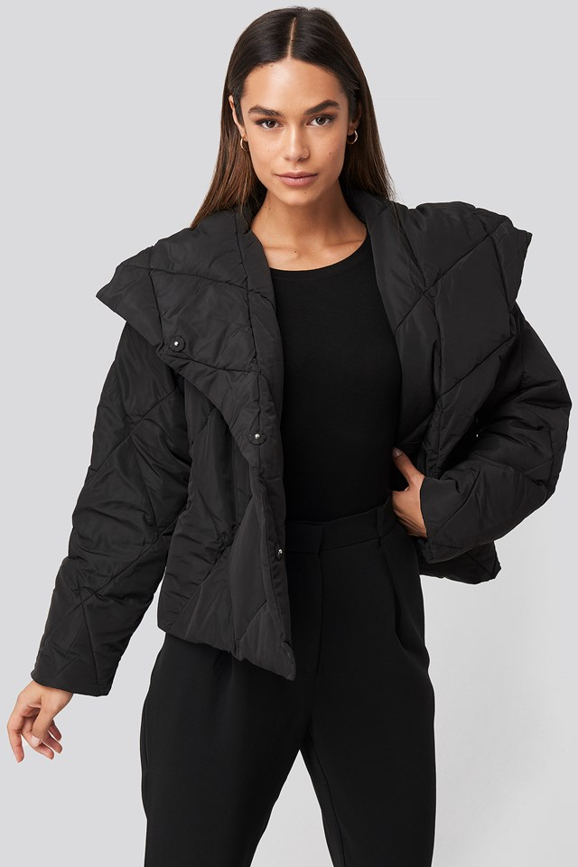 Quilted Short Padded Jacket NA-KD