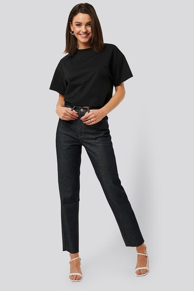 Raw Denim Jeans NA-KD