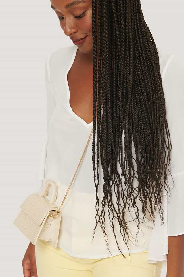 Removable Slim Bag Chain Gold