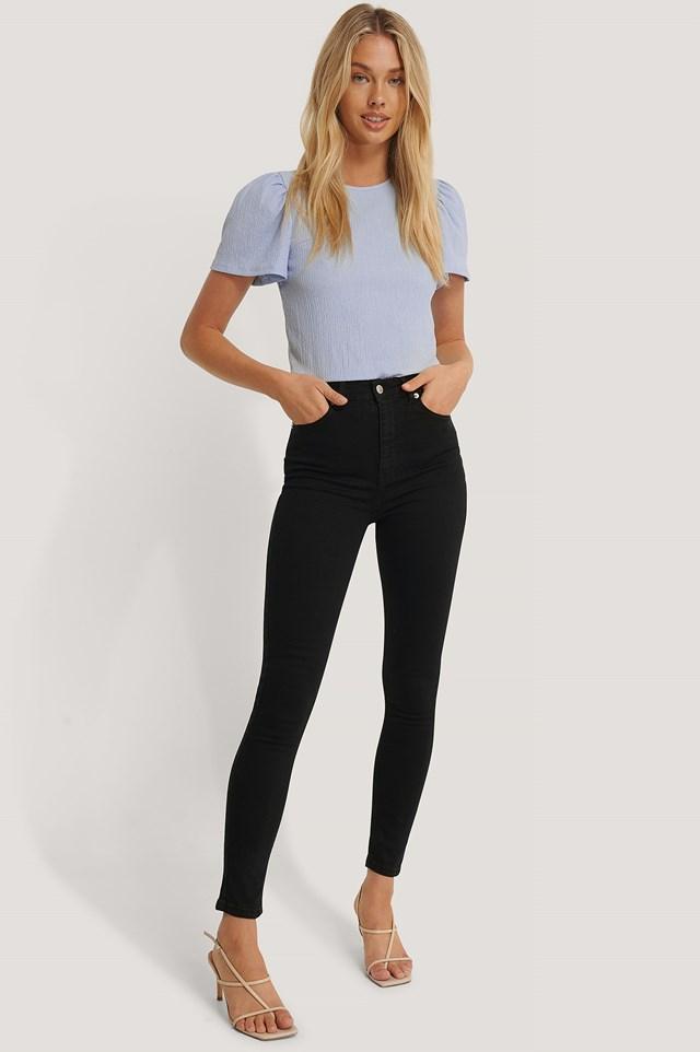 Skinny High Waist Jeans NA-KD
