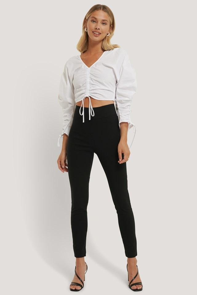 Slim-fit Super Stretch Pants Black