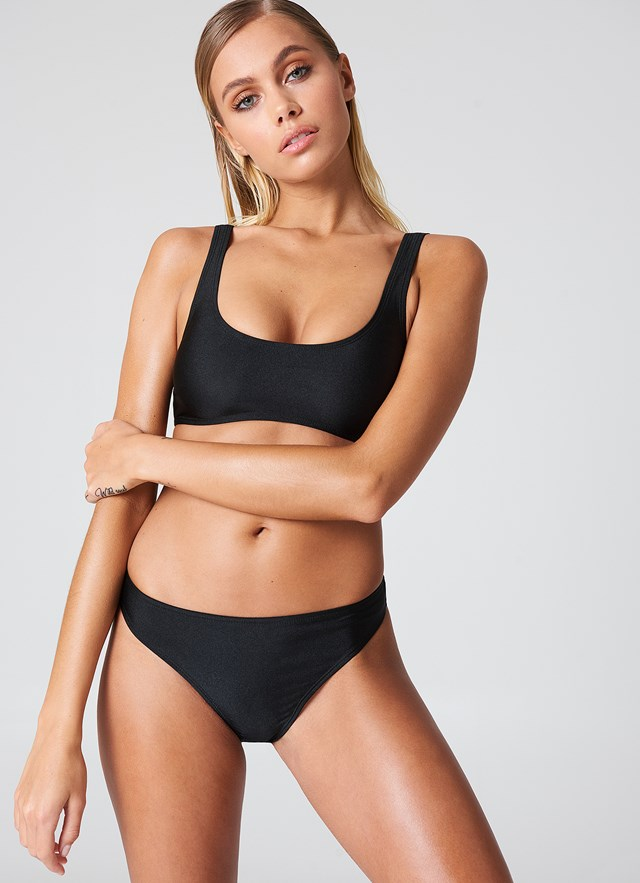 Sporty Bikini Briefs Black
