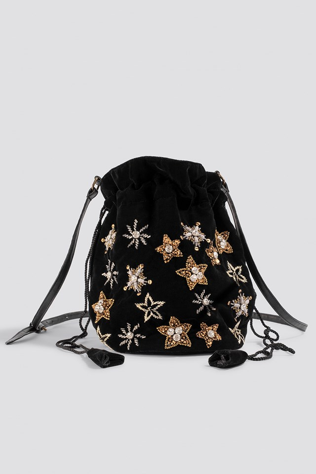 Star Embellished Pouch Bag NA-KD Accessories