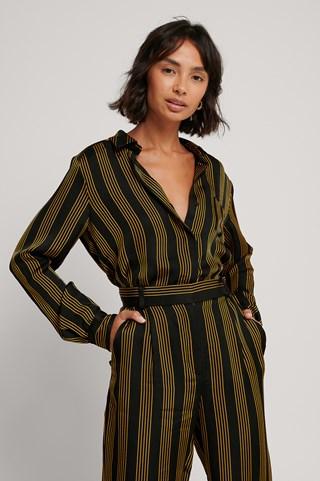Striped Striped Blouse