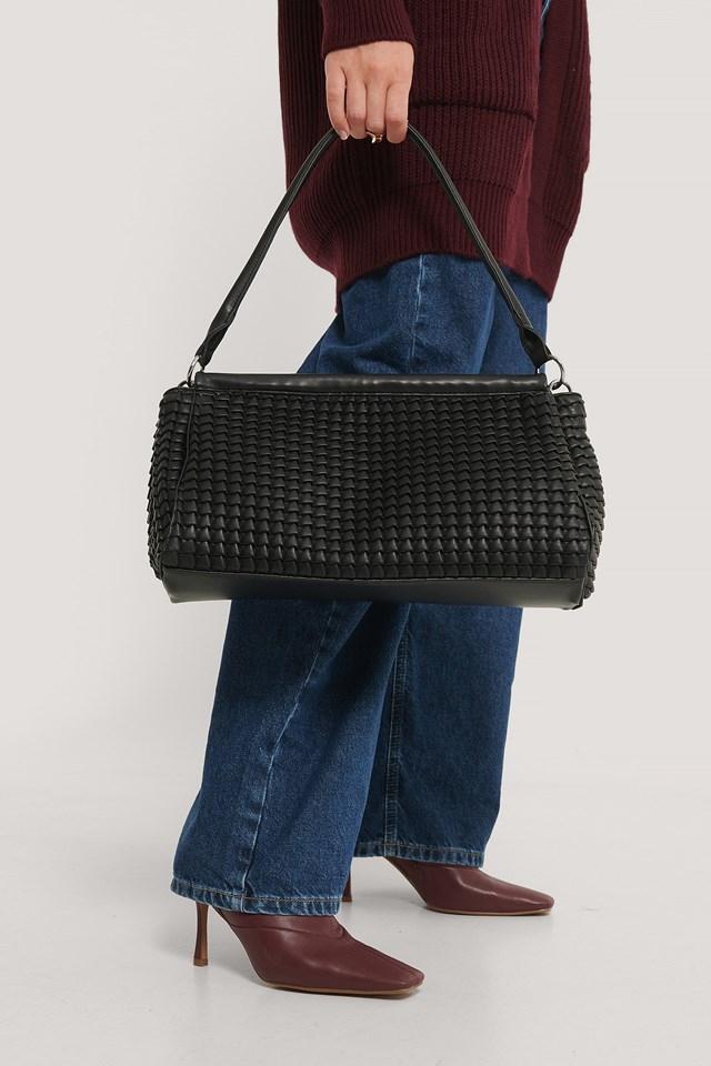 Structured Handbag Black
