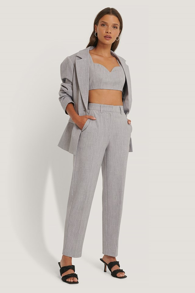 Suit Pants Light Grey