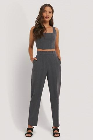 Dark Grey Suit Pants