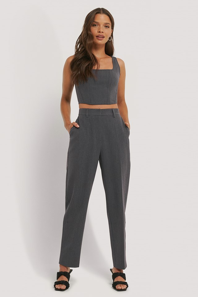 Suit Pants Dark Grey
