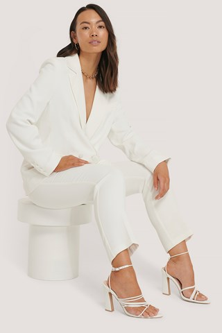 White Tailored Blazer