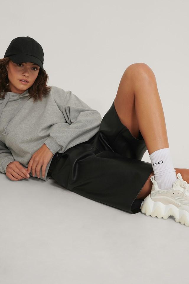 Organic Tennis Socks NA-KD Logo 3-Pack White