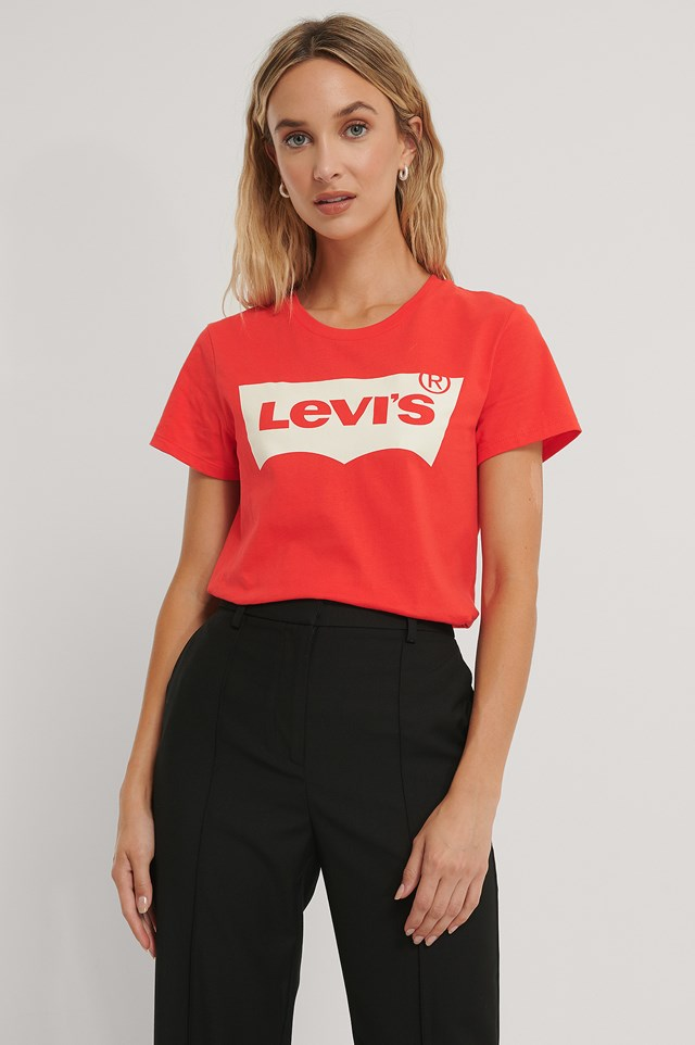 The Perfect Tee Batwing Red